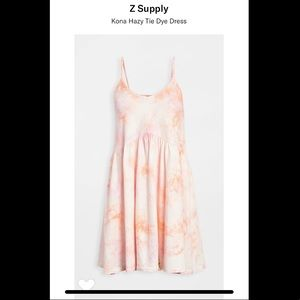 Z Supply Tie Dye Dress